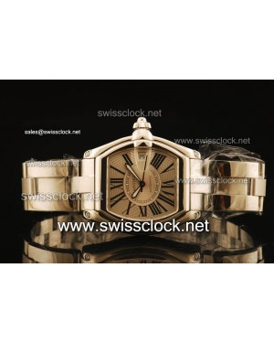 Cartier Roadster SS Grey Swiss ETA 2836 CA11104 | 1:1 Original