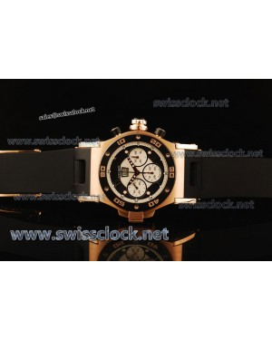 Hysek Abyss Explorer Chrono RG White-Black Asia 7750/4090 HY201106140337︱1:1 Original