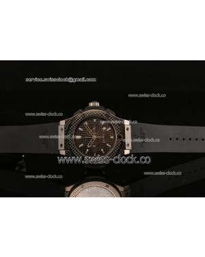 Hublot Big Bang Chrono PVD Black Dial Miytoa OS20 Quartz 201408018546