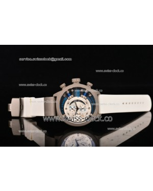 Welder K38-701 Chronograph SS White/Black Dial (Blue Spirit) OS10 Quartz 201501208261 (EF)