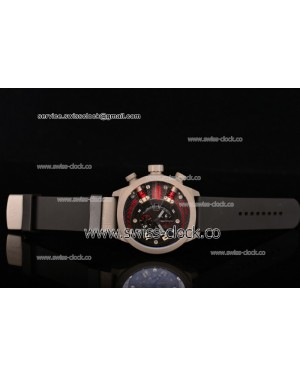 Welder K38-703 Chronograph SS Black Dial (Red Spirit) OS10 Quartz 201501208303 (EF)