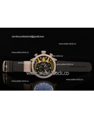Welder K38-703 Chronograph SS Black Dial (Yellow Spirit)OS10 Quartz 201501208334 (EF)