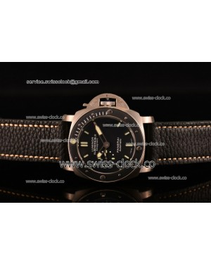 Panerai Luminor Submersible 1950's Amagnetic 3 Days Automatic Titanio PAM00389 Titanium Black Dial AST25 201506153590