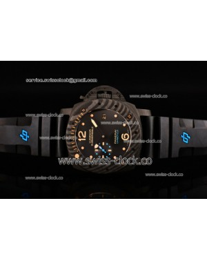 Panerai Luminor Submersible 1950 Carbotech 3 Days Automatic PAM 616 Real Carbon Fiber Black Dial Clone P.9000 201507272303
