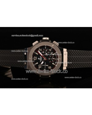 Hublot Big Bang Chronograph PVD Black Dial A7750/503-F34 Run9@Sec 201508249502