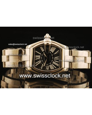 Cartier Roadster SS Black Swiss ETA 2836 CA11103 | 1:1 Original