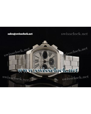 Cartier Roadster SS White A-7753/503-F34 CA201304068233 | 1:1 Original