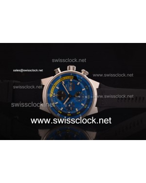 IWC Aquatimer Cousteau Divers SS Blue Asia 7750/4042 with Day-Date 201206134704