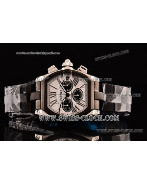Cartier Roadster TT White Dial A-7750-SHG CA201308173413 | 1:1 Original