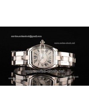 Cartier Roadster SS Silver Swiss Quartz CA201310093056
