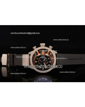 Welder K38-703 Chronograph SS Black Dial (Orange Spirit) OS10 Quartz 201501208283 (EF)