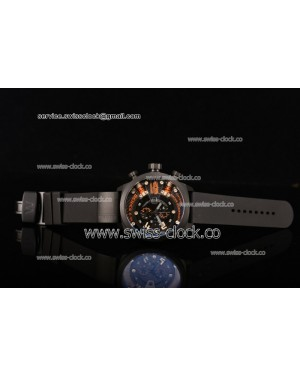Welder K38-702 Chronograph PVD Black Dial (Orange Spirit) OS10 Quartz 201501208373 (EF)