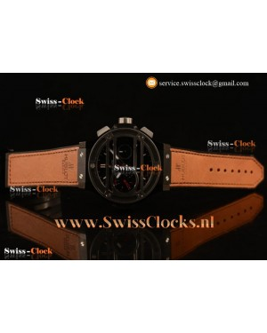 Hublot Big Bang Chukker Bang Limited Edition Chronograph PVD Black Dial Valjoux 7750 201711037510 (YF)