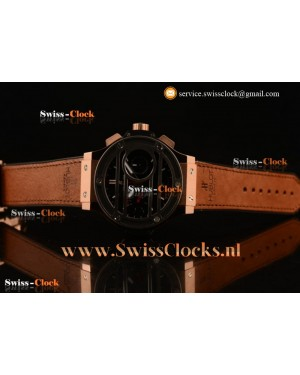 Hublot Big Bang Chukker Bang Limited Edition Chronograph RG Black Dial Valjoux 7750 201711037525 (YF)