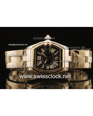 Cartier Roadster SS Black Swiss ETA 2836 CA11102 | 1:1 Original