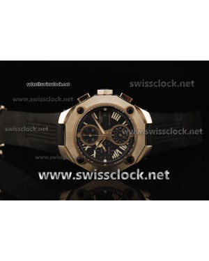 Baume & Mercier Riveria Magnum Chrono SS Black Asia 7750 BM11002